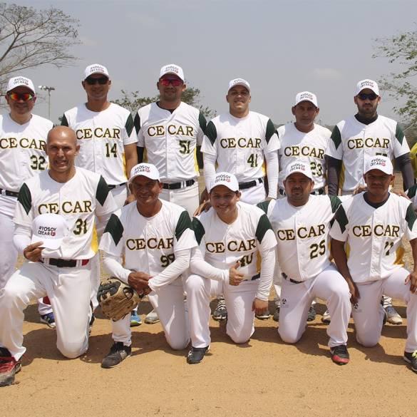 CECAR ganó por nocaut el partido inaugural del Torneo de Sóftbol