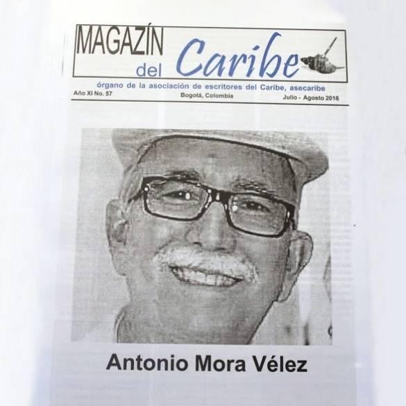 Magazín del Caribe homenajea a Antonio Mora Vélez