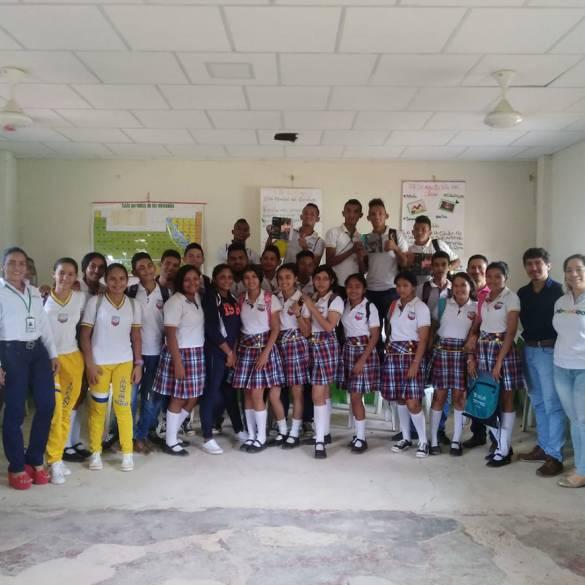 CECAR participó en actividad escolar