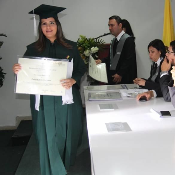 Segunda ceremonia de grados en CECAR