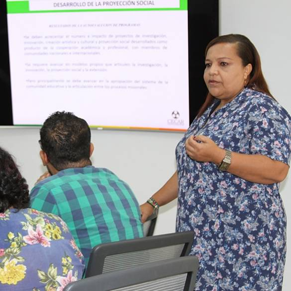 Reestructuran Comité Central de Proyección Social Institucional