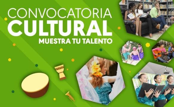 Convocatoria Cultural Muestra tu Talento