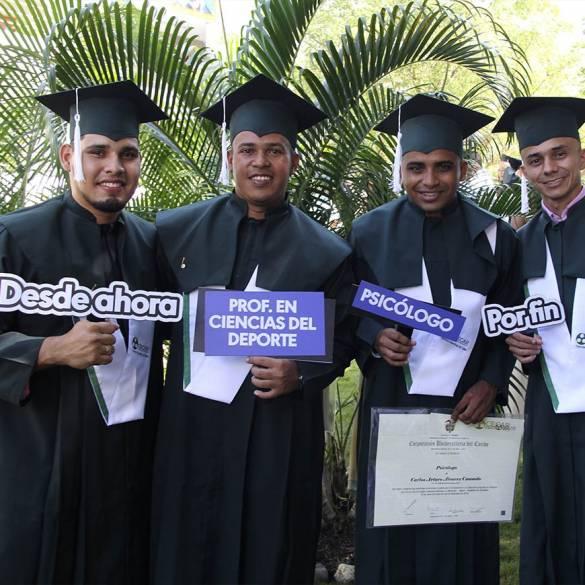 Profesionales y especialistas graduados en CECAR