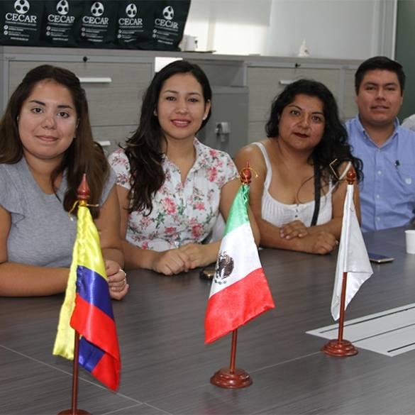 Tres países congregados en CECAR