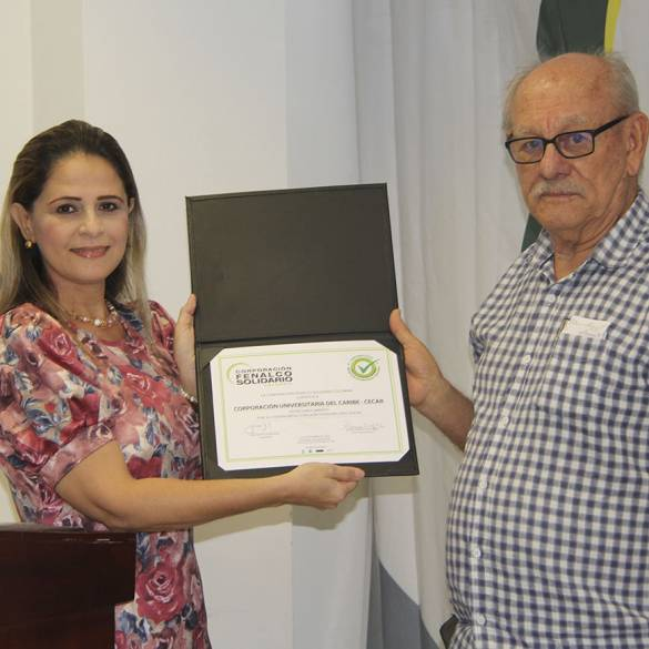 Renovación de Certificado en Responsabilidad Social para CECAR
