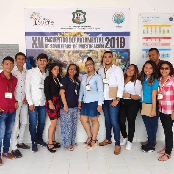 CECAR, presente en el Encuentro Departamental de Semilleros de Investigación Red Colsi 2019