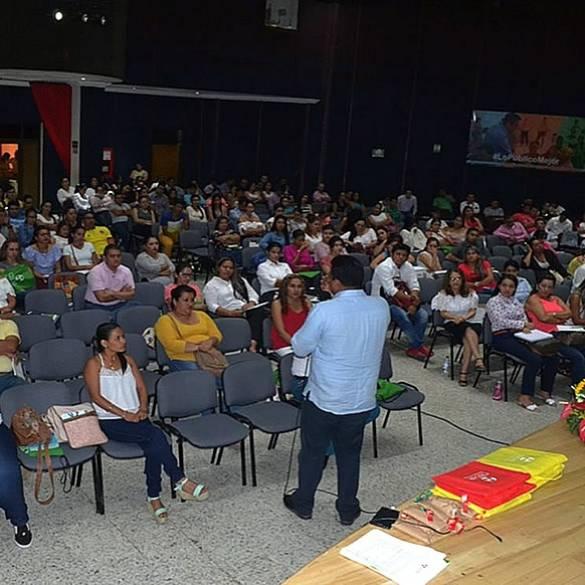 Inducción a estudiantes de primer ingreso en CAT Villavicencio