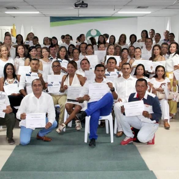 Más de 100 docentes de Ondas Tic Sucre se graduaron