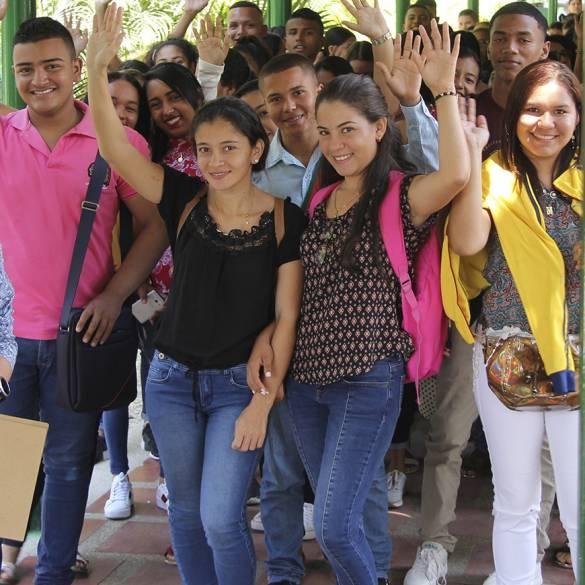 Más de mil caras nuevas llegaron a esta casa de estudios