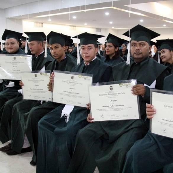 Cerca de 500 profesionales graduó CECAR en Sincelejo