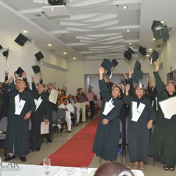 Extensión Montería graduó más de 70 personas