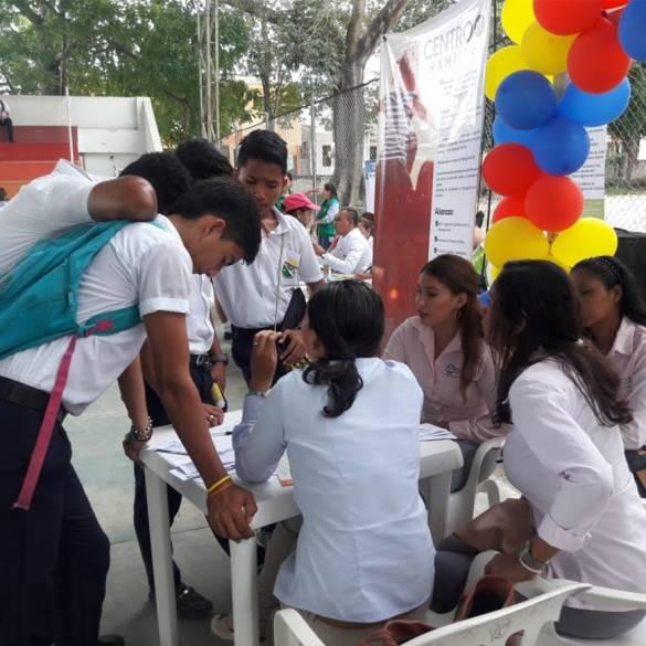 Centro de Familia participó en Feria de Servicios