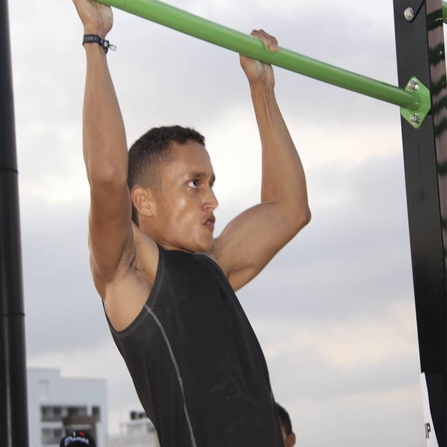 World Pull Up Day, en CECAR (Día Mundial de la Dominada)