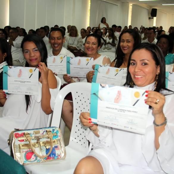 Docentes se graduaron