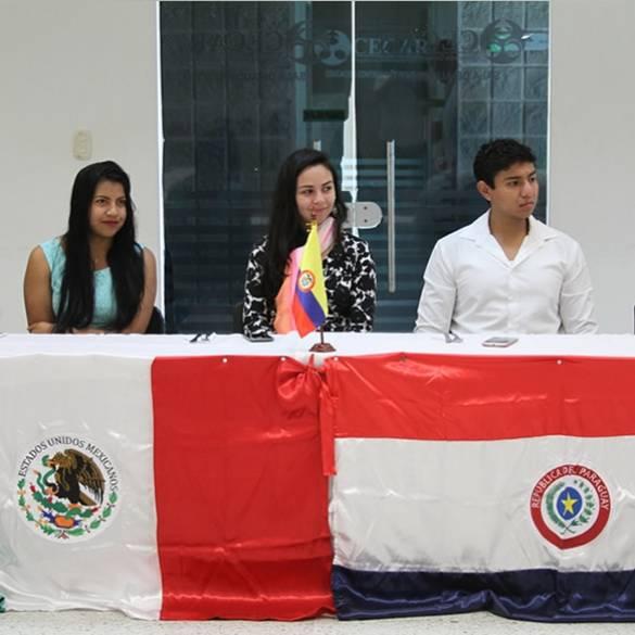 Bienvenida a estudiantes de movilidad internacional