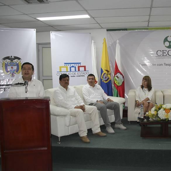 Consejo de Estado dialogó con la comunidad