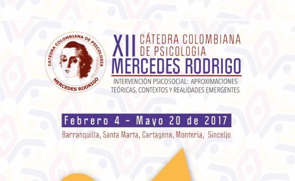 XII Versión Cátedra Colombiana de Psicología Mercedes Rodrigo 2017