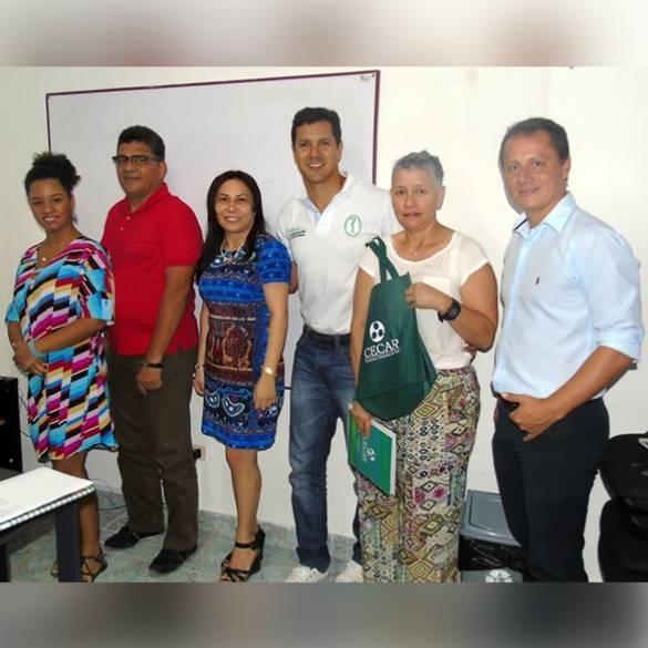 Movilidad estudiantil y docente entre CECAR…