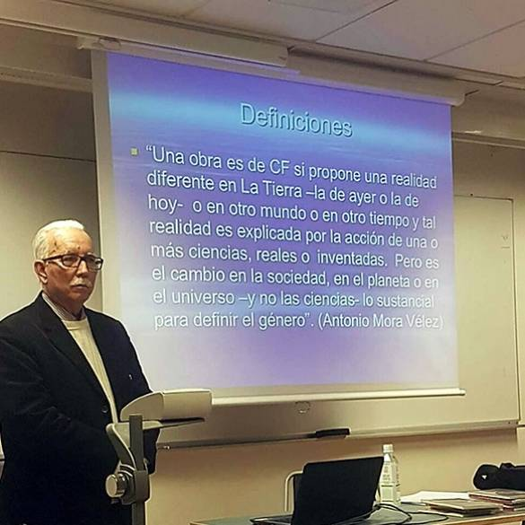 Ponencia en la Universidad de Upsala