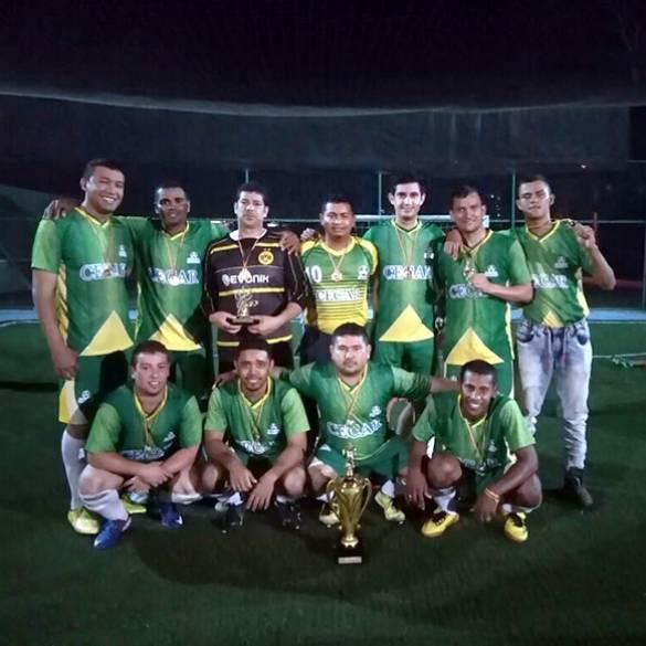 CECAR, campeón de Torneo Empresarial