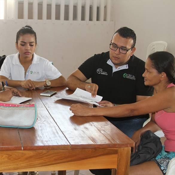 Consultorio Jurídico Móvil visitó San Pedro