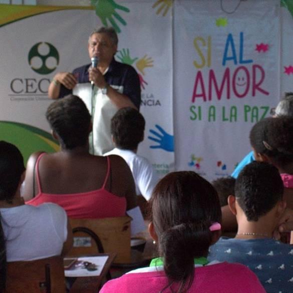 Extensión Montería apoya Escuela de Convivencia Ciudadana