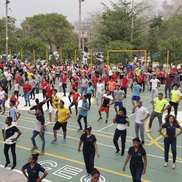 A lo grande se celebró el Día Mundial de la Actividad Física