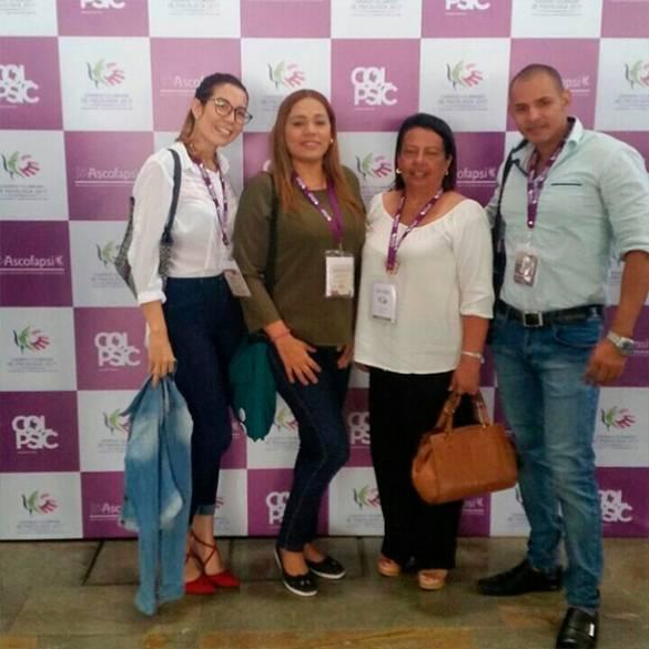 CECAR hace presencia en Congreso Colombiano de Psicología