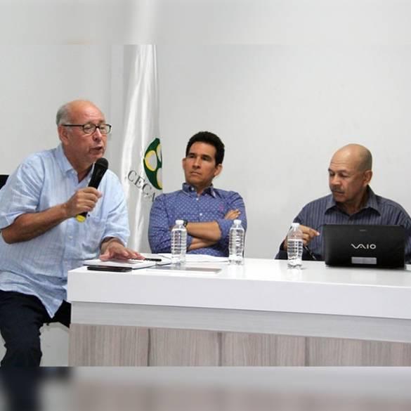 Exitosa rueda de empresarios en CECAR