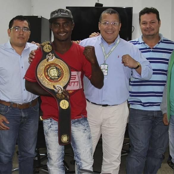Campeón Déiner  Berrío se preparará en CECAR