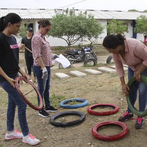 Consultorio Arquitectónico intervino parque en Chochó