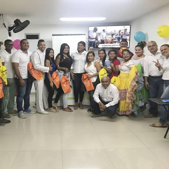 Extensión Montería recibió a sus nuevos estudiantes