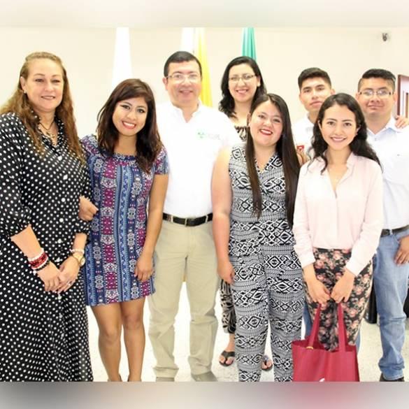 Bienvenida de estudiantes extranjeros