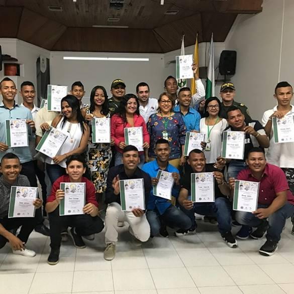 Clausura del Programa Jóvenes a lo Bien