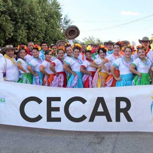 Fandango cecarense se lució en Feria Nacional de la Ganadería